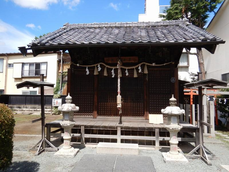 薬師神社|川越「時の鐘」奥にある眼の病気にご利益がある神社
