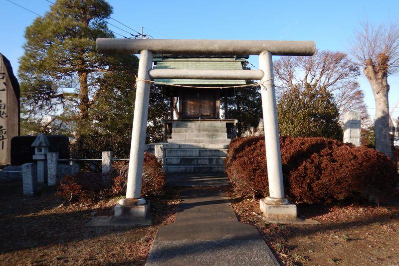 川越・石田本郷の神社「芳野神社」