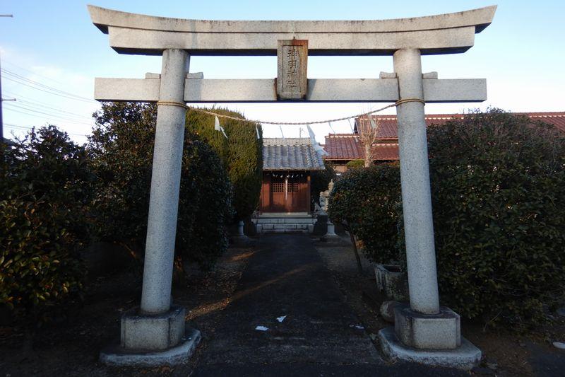川越│菅間の「神明神社」