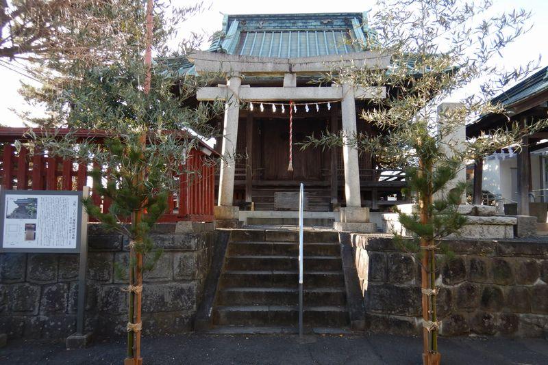 川越「六塚稲荷神社」