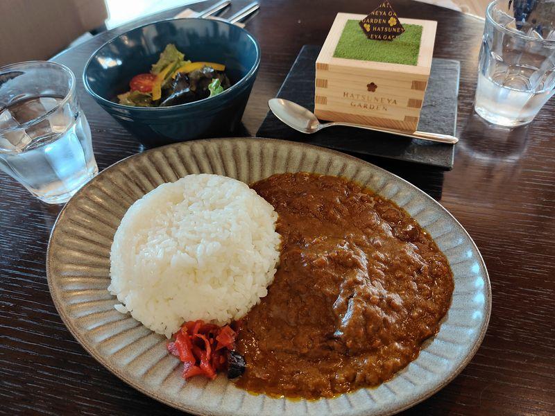 川越の「ハツネヤガーデンカフェ」